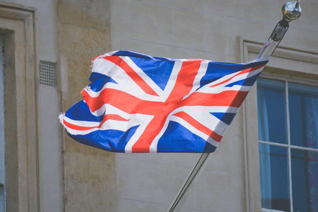 importance of English - English flag